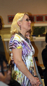 Pam Wye-Hunsinger, Chair of the St. Benedict's Art Department, was the coordinator of the year-long Asia Project.