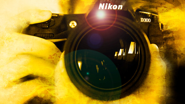 Golden Nikon Shooter