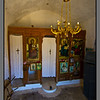 Agios Ioannis - chapel for St. John; interior is rich on symbols