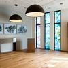 Stille rom. Glassmaleri og triptyk ved Espen Tollefsen