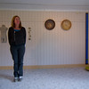 Ingrid herself <br /> At her exhibition in Beiarn autumn 2008