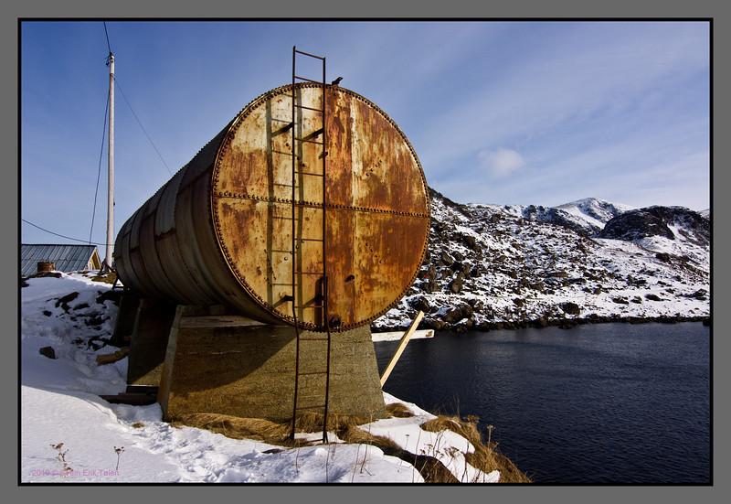 The Tank, Nyksund - on the edge