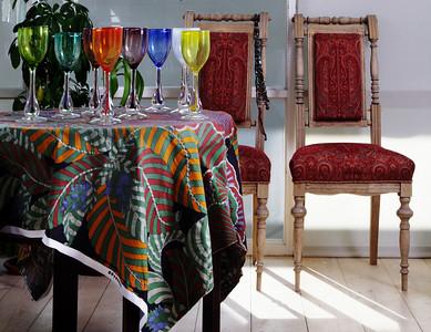 Kai Koppeli valmistatud klaasobjektid/ Glass objects made by Kai Koppel