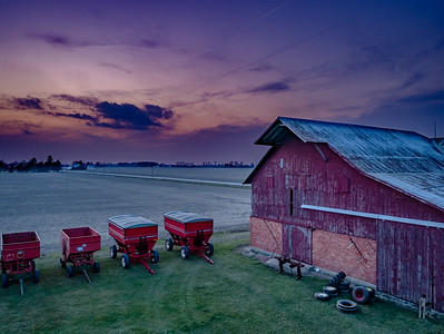 Twilight on the Farm