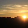 Sunrise from Mt Helix