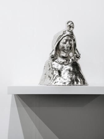 'Ghosthead (silverplated)' Paloma Varga Weisz - Galeria Pedro Cera, Lisboa