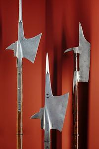 Medieval Halberds at the Musée d'art et d'histoire of Geneva