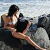 beautiful woman sunset beach swimsuit model 45surf 801.657