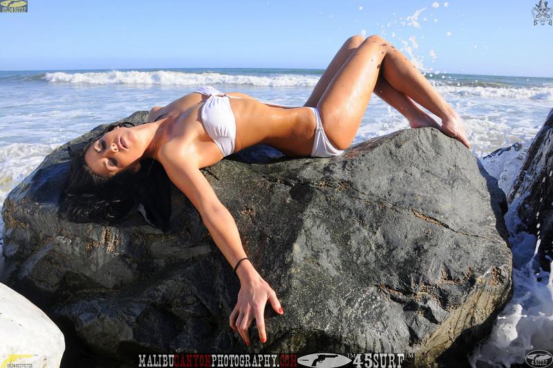 beautiful woman sunset beach swimsuit model 45surf 932.09..