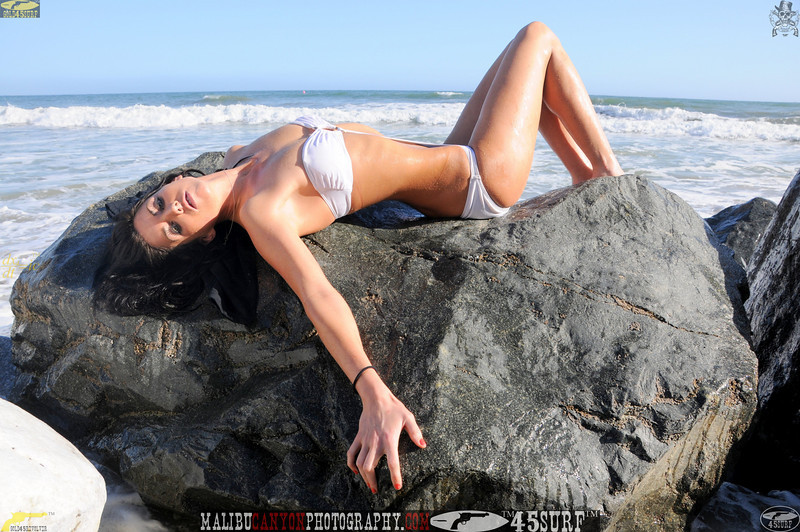 beautiful woman sunset beach swimsuit model 45surf 939.090...