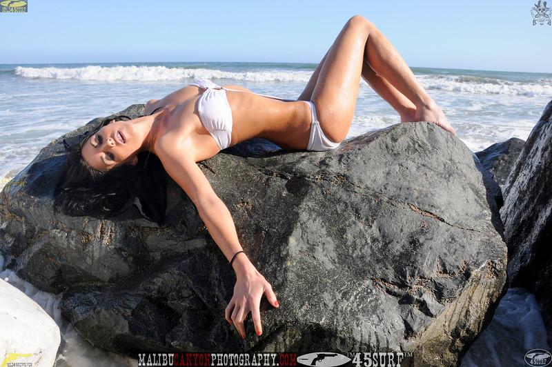 beautiful woman sunset beach swimsuit model 45surf 934.09..