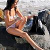beautiful woman sunset beach swimsuit model 45surf 796.5.54