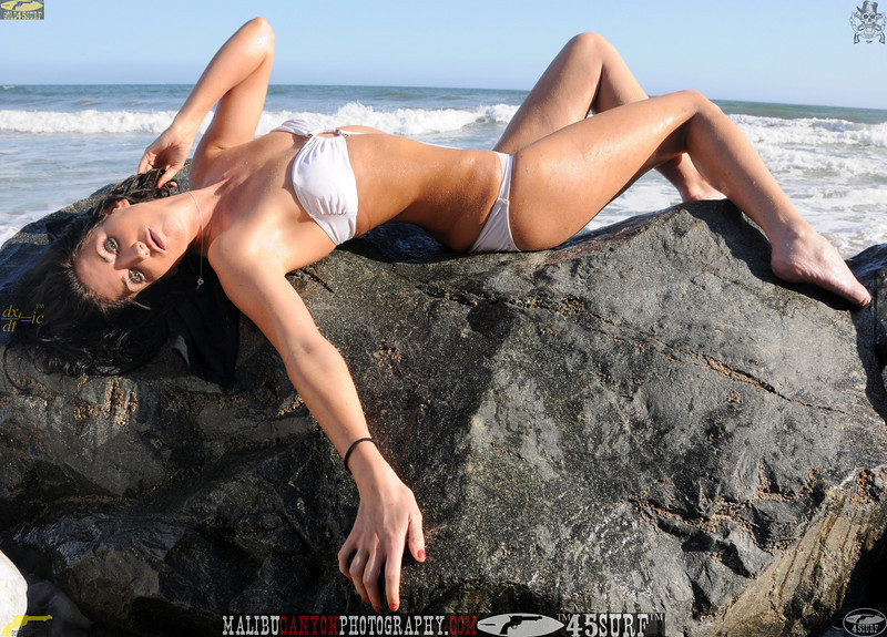 beautiful woman sunset beach swimsuit model 45surf 911,465