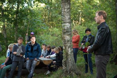 "Karl Chilcott: ""Contrast"" for Rælingen Kommune at RKF Rælingen kunstforening"