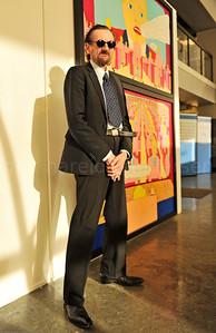 Pushwagner - Terje Brofos Et tilfeldig møte på Rådhuskaia i Oslo, i Rådhusgalleriet