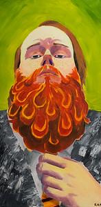 Maleri av Robin Hareide Andersen