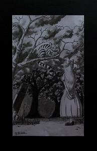 Tegning av Eivind Rafael T. Holmstad
