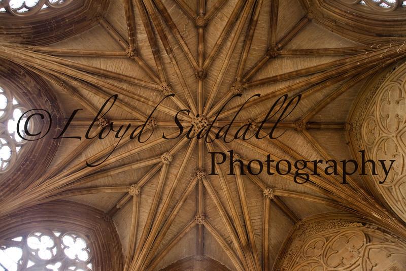 Southwell Minster main ceiling.