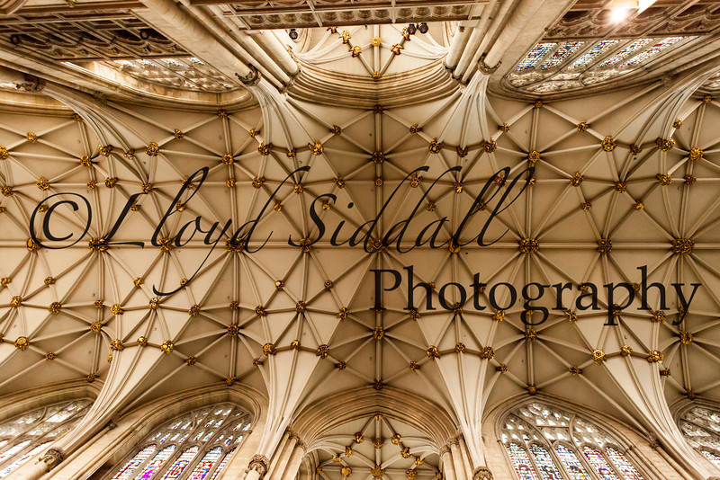 York Cathedral ceiling.