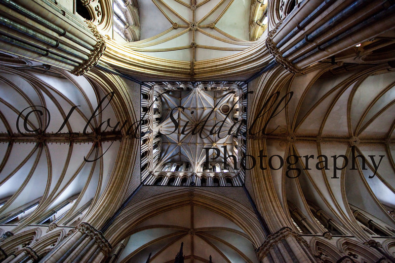 Lincoln Cathedral main ceiling.