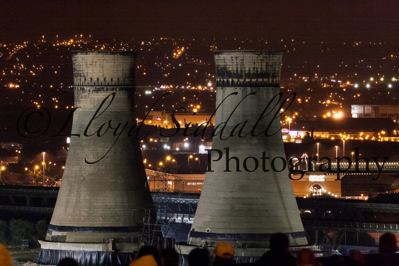 Sheffield Cooling Towers Demolition (1 of 11)