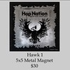 026_Hop Nation Hawk magnet