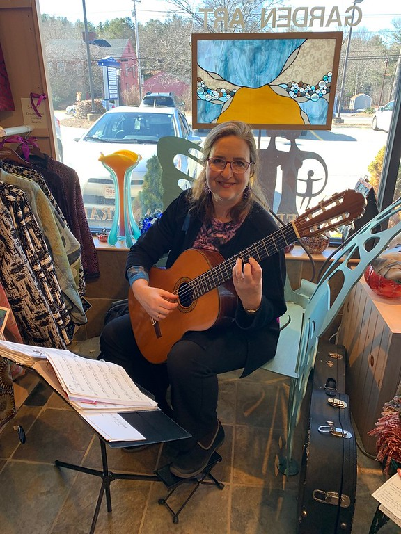 . Classical guitarist Berit Strong of Acton