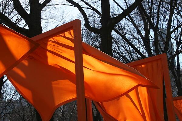 Christo's Gates at Central Park