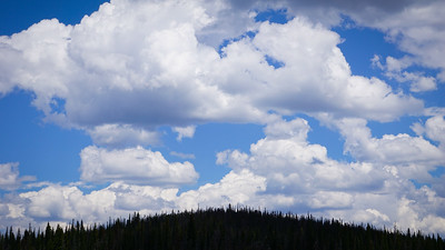 Clouds over Chambers Lake