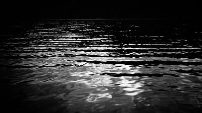 Chambers Lake sundown