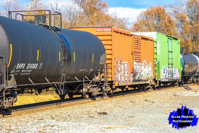 As the Freight Rolls Through