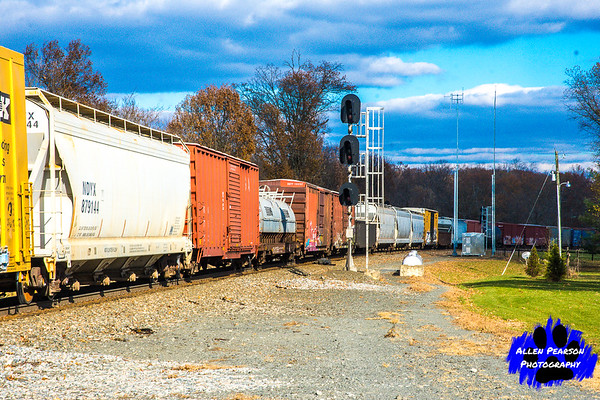 The Beauty of a Freight Train