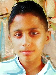 Ahmed from Jordan by David Miller