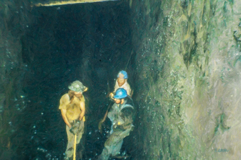 Meeting in the Mine