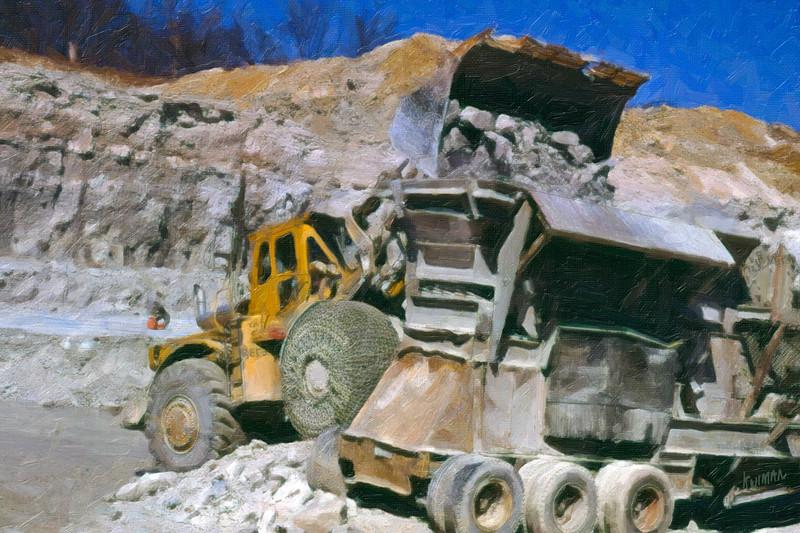 Crushing Stone