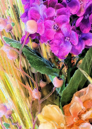Living Room Flowers 7