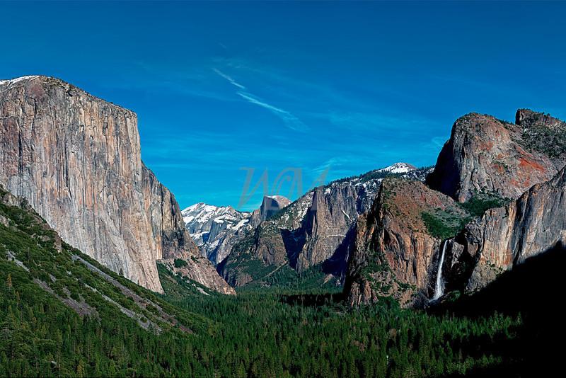 Yosemite Valley : Yosemite National Park, California