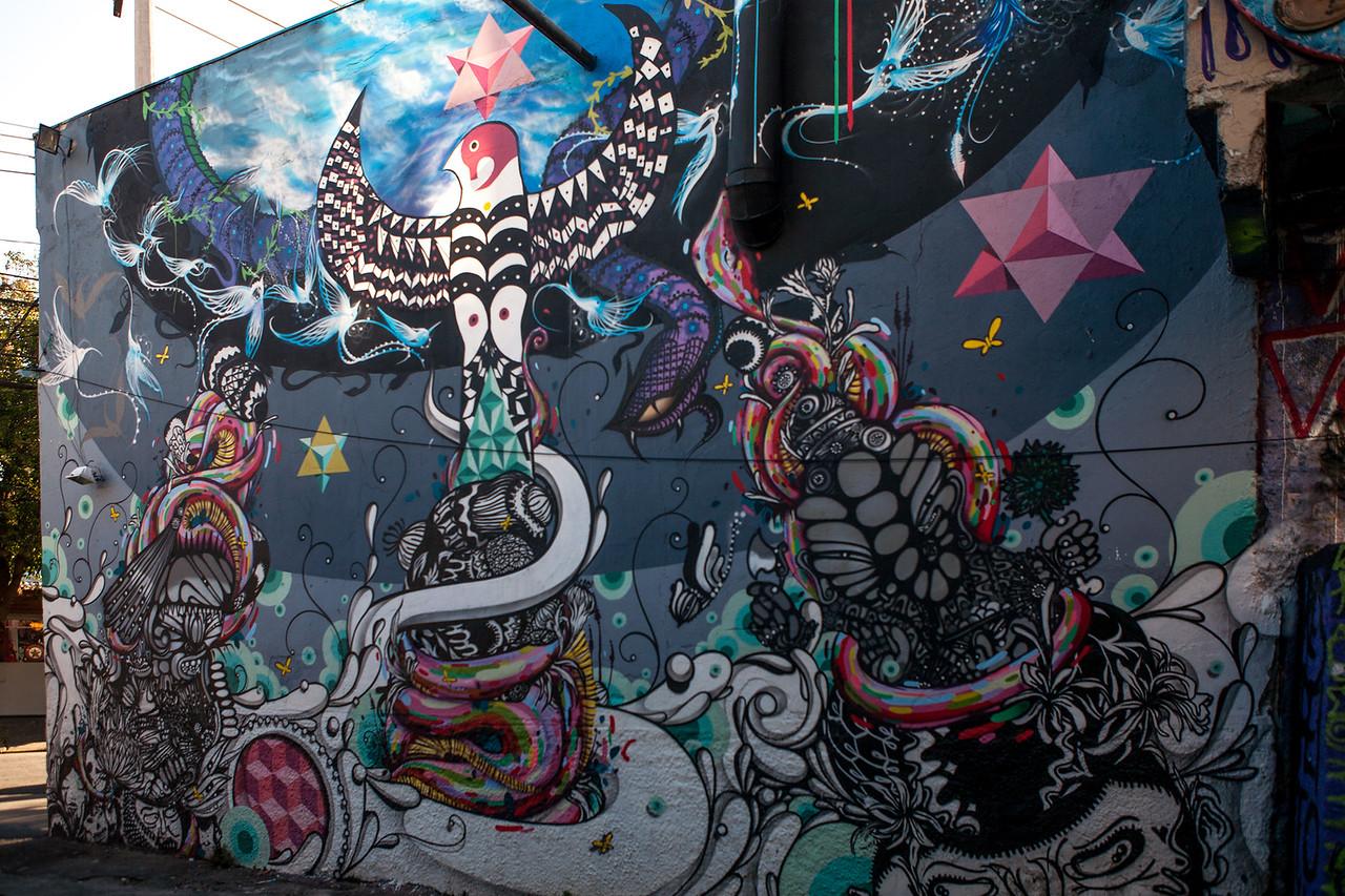 Artist Unknown - Beco do Batman, Sao Paulo, Brazil