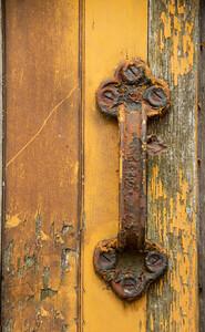 Old Tran Door Handle