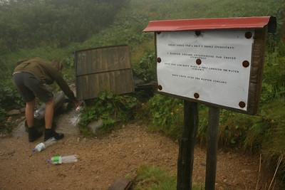 Ještě něco z cest - takto informují turisty v Nízkých Tatrách