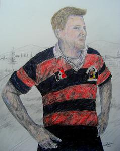 Dave, 14x17, color pencil, may 16, 2014 CIMG9712 - Copy
