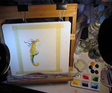 Seahorse in Progress