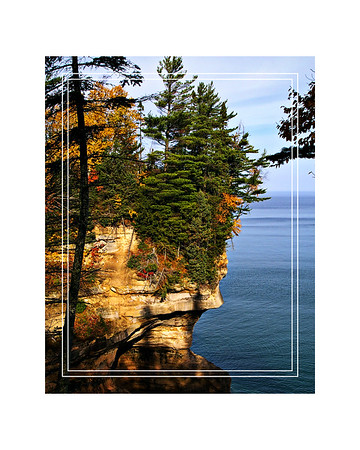 Pictured Rocks Lakeshore 16x20