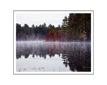 Foggy Lake 2018  16x20