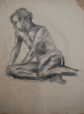 Figure drawing Class at Ringling school of Art 1967