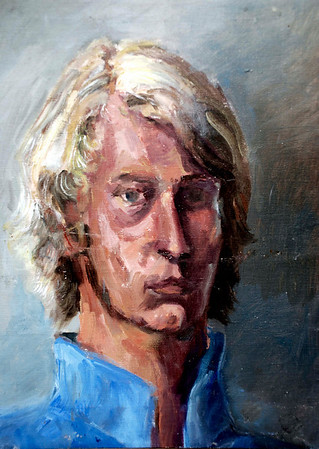 Soren  painted from a life at Ringling School of Art