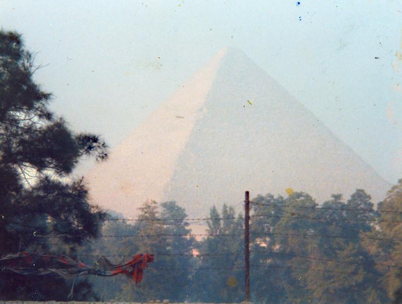 "Readymade Beginning. Color print, 3.5"" x 4.5"", 1984."
