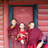 Students at Tibetan Monastery school, near Bamei, Sichuan Province.