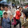 Gestures: Children, Guza Village, Sichuan Province. 2005