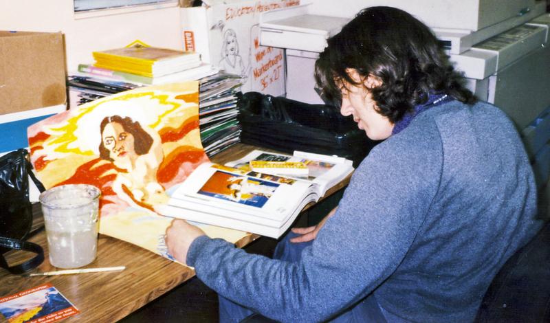 Cassandra painting.